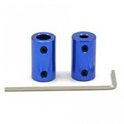 Rigid Coupling Hub Blue 5mm To 8mm
