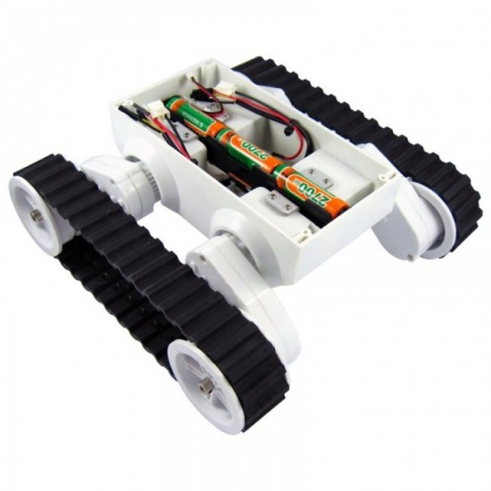Rover 5 Robot Chassis 2 Motors 2 Encoders