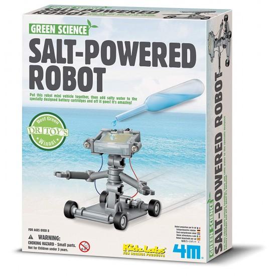 Salt Water Powered Robot Kit