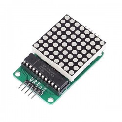 Red LED Dot Matrix Display Module MAX7219