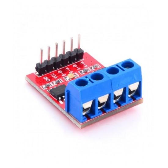 Dual-Channel H-Bridge Motor Driver Module