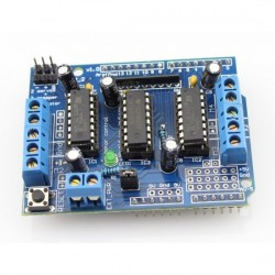 L293D Motor Drive Shield For Arduino - UNO & Mega