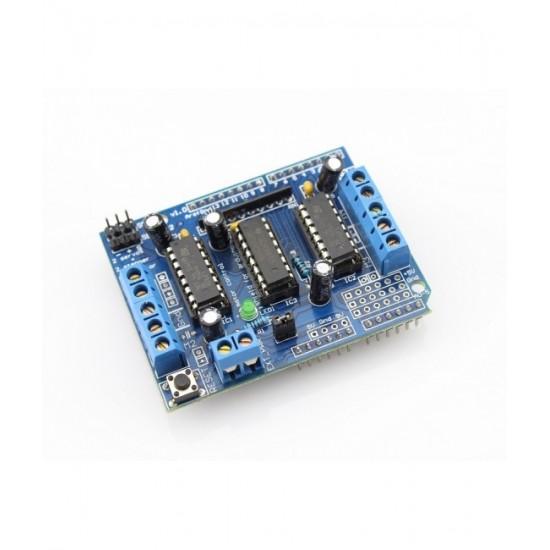 L293D Motor Drive Shield For Arduino - UNO & Mega
