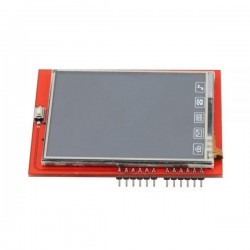 LCD 2.4'' Shield for Arduino with Extra Connector