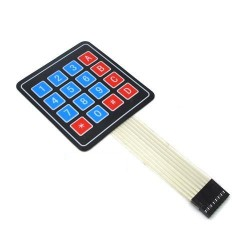 Keypad 4 X 4 Matrix Keyboard 16 Key Membrane