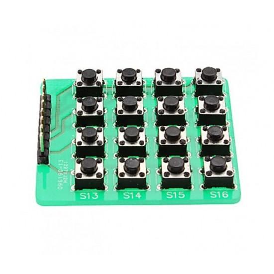 Matrix Keypad 4x4 Module 16 Button for MCU or Arduino