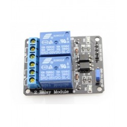 Relay Module 5V DC 2 Channel