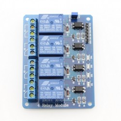 Relay Module 5V DC 4 Channel