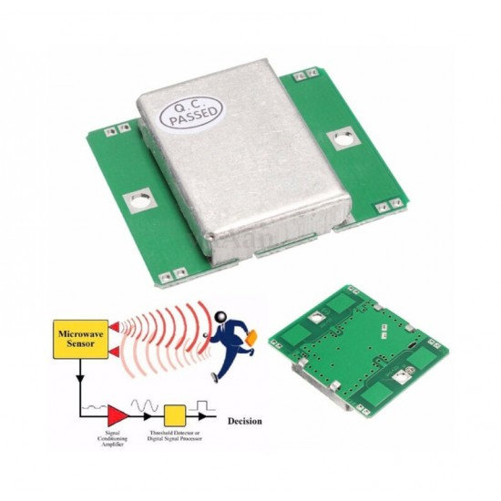 Microwave Doppler Radar Wireless Module Motion Sensor HB100