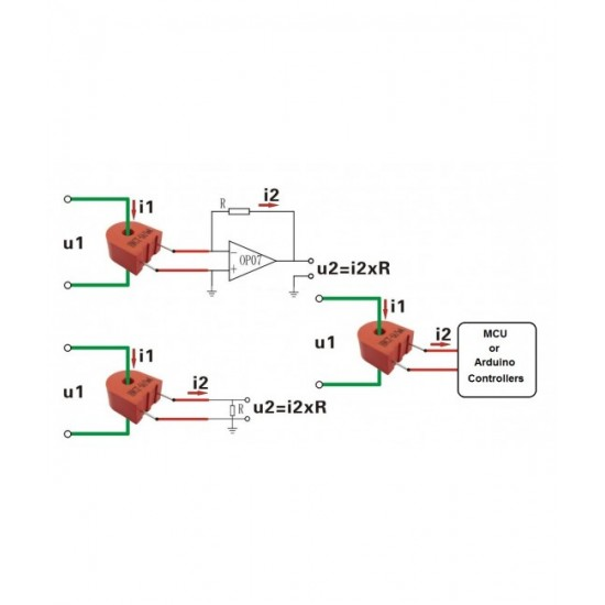 HWCT- 5A/5mA Current Sensor
