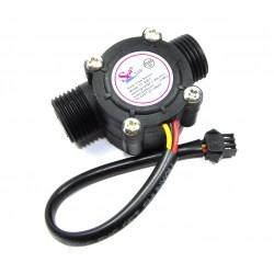 "Water Flow Sensor 1/2 "" Control Effect Flowmeter Hall 1-30L/min YF-S201"