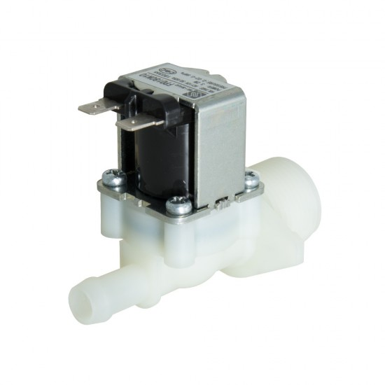 2 Way 2 Position Solenoid Valve 220V AC 26mA 0.25 inch Normally Closed