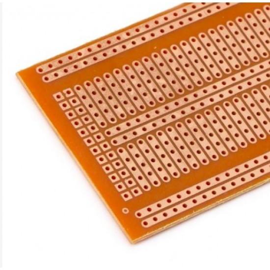 Stripboard Prototype Circuit - Breadboard Shape