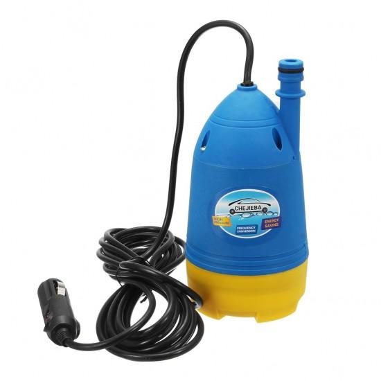 Submersible Pump Car Washer 12V-80W 0.6Mpa