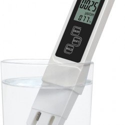 TDS EC Temperature 3 In One Meter Digital Tester