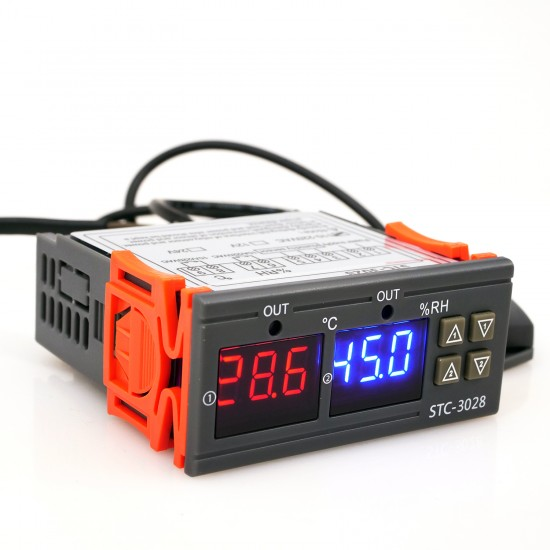 Digital Temperature Humidity Controller STC 3028