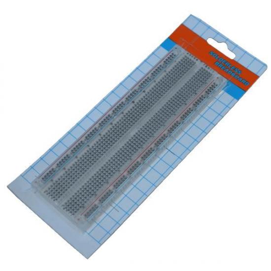 Transparent Breadboard 830 Tie-point Solderless Prototype Board