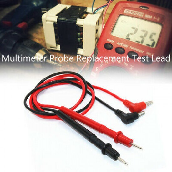 Universal Probe Test Leads Cable For Digital Multimeter 750V 10A